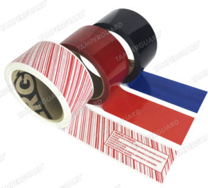 Tamper Evident Packing Tape Unvoided