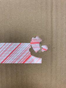 PVC Tape Broken